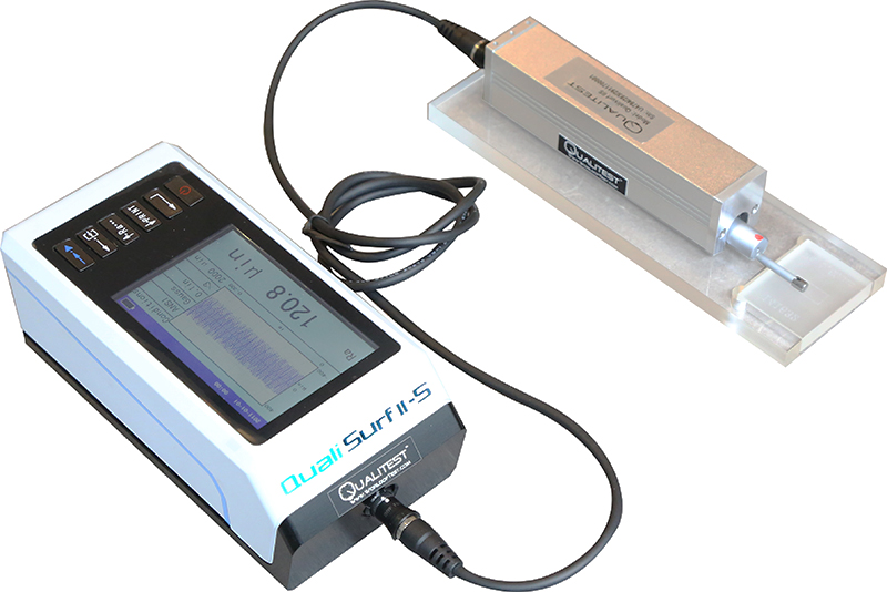 Portable Surface Roughness Tester - Qualisurf II / II-S