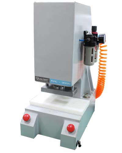 Auto-Pneumatic Clicker Press