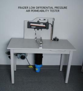 Frazier Differential Pressure Air Permeability Tester